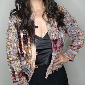 Chico's Design | Multicolor Patterned Jacket